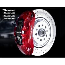 Maserati naljepnica za kočiona kliješta naljepnica za retrovizor naljepnica za staklo naljepnica 100mm 4 kom.