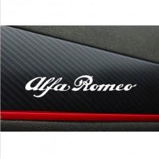Alfa Romeo naljepnica 2kom. 120mm