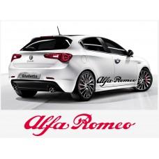 Alfa Romeo naljepnica bočna set naljepnica 150cm