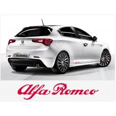 Alfa Romeo naljepnica bočna set naljepnica 20cm