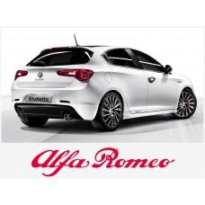 Alfa Romeo naljepnica bočna set naljepnica 30cm