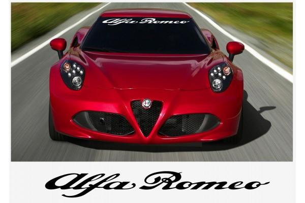 Alfa Romeo vjetrobranska naljepnica