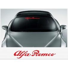 Alfa Romeo vjetrobranska naljepnica 500mm/1400mm