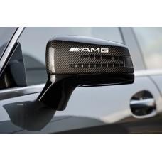 AMG Mercedes Benz naljepnica za retrovizor naljepnica 2kom. 12cm Emblem Logo C55 CLK E55
