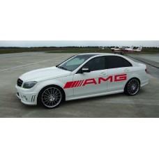 AMG Mercedes bočna naljepnica 1kom. 2100mm