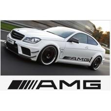 AMG Mercedes bočna naljepnica 2kom. 1000mm