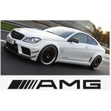 AMG Mercedes bočna naljepnica 2kom. 220mm