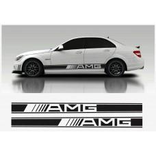 AMG Mercedes bočna naljepnica 2kom. set 2150mm