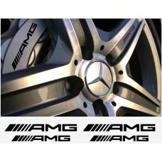 AMG Mercedes naljepnica za kočiona kliješta naljepnica - 4kom. set - neu logo