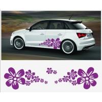 Audi A1 ABT bočna set naljepnica Blume Flower Power Laviel