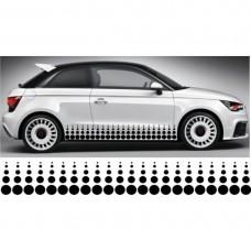 Audi A1 set bočnih naljepnica