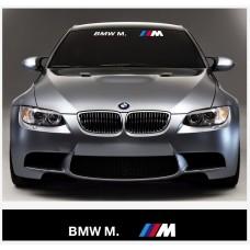BMW M BMW Power vjetrobranska naljepnica 1400mm x 200mm