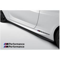 BMW M Performance bočne naljepnica 300mm 2kom. set