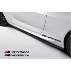 BMW M Performance bočne naljepnica 500cm 2kom. set