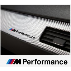 BMW M Performance motorsport armaturna naljepnica 120mm 2kom.
