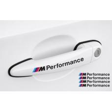 BMW M Performance naljepnica za kvaku set naljepnica 4 kom., 120mm