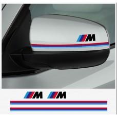 BMW M Performance naljepnica za retrovizor naljepnica