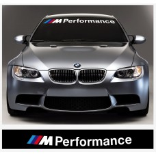 BMW M Performance vjetrobranska naljepnica 950  or 1100mm / 1400mm