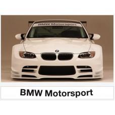 BMW M Power vjetrobranska naljepnica 1400mm x 200mm