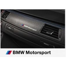 BMW Motorsport armaturna naljepnica 120mm 2kom.