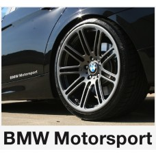 BMW motorsport bočna naljepnica 200 , 2kom.