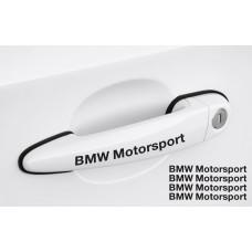 BMW Motorsport naljepnica za kvaku set naljepnica 4 kom., 120mm