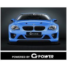 BMW Motorsport vjetrobranska naljepnica 950  / 1400