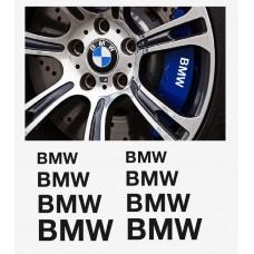 BMW naljepnica za kočiona kliješta - felge - retrovizor naljepnica - 8kom. set