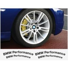 BMW Performance naljepnica za kočiona kliješta naljepnica - 4kom. set
