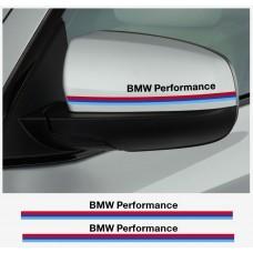 BMW Performance naljepnica za retrovizor naljepnica