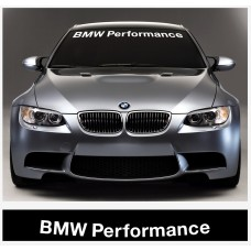 BMW Performance vjetrobranska naljepnica 950  / 1400