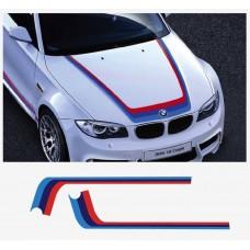BMW Powered by G Power vjetrobranska naljepnica 950  / 1400