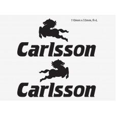Carlsson bočne naljepnice 2 kom. 11 cm