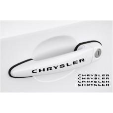 Chrysler naljepnica za kvaku naljepnica 4 kom., set 120mm