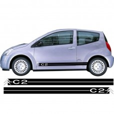 Citroen C2 set bočnih naljepnica