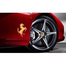 Ferrari bočna set naljepnica Cavallino Rampante 2kom. Ferrari Pferd