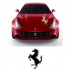 Ferrari naljepnica za haubu naljepnica Cavallino Rampante 65cm