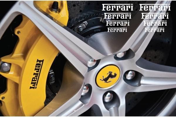 Ferrari naljepnica za kočiona kliješta naljepnica za retrovizor naljepnica za staklo naljepnica 80mm - 50mm
