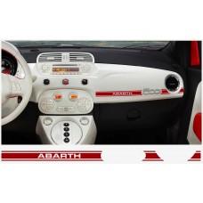 Fiat 500 ABARTH armaturna naljepnica 2kom. ABARTH