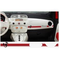 Fiat 500 ABARTH armaturna naljepnica 2kom. SKORPIO