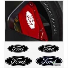 Ford naljepnica za kočiona kliješta - felge - retrovizor naljepnica - 4kom. set