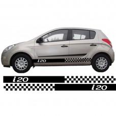 Hyundai i20 set bočnih naljepnica