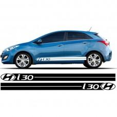 Hyundai i30 set bočnih naljepnica