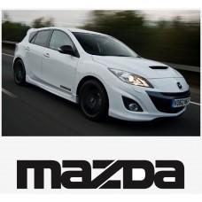 Mazda bočna set naljepnica 200mm