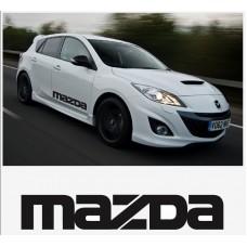 Mazda bočna set naljepnica 800mm