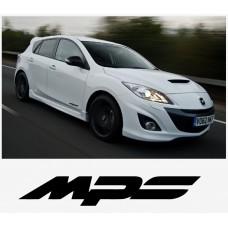 Mazda MPS bočna set naljepnica 200mm