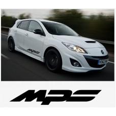 Mazda MPS bočna set naljepnica 800mm