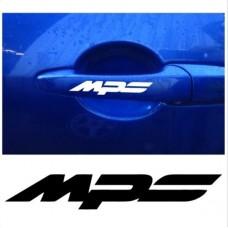 Mazda MPS naljepnica za kvaku naljepnica 4kom. set 92mm