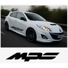 Mazda MPS sport racing bočna set naljepnica 1400mm