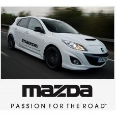 Mazda passion for the road bočna set naljepnica 1400mm